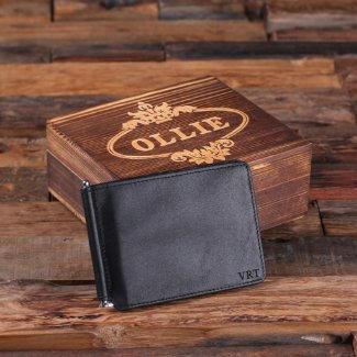 Bifold Wallet & Box $37.99