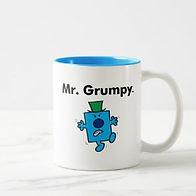 mr men mr grumpy mens mug