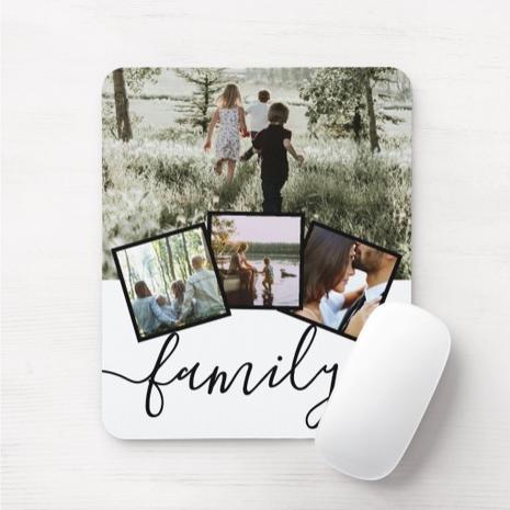 4 x Photo Mouse Pad $11.95
