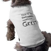 funny halloween dog shirt