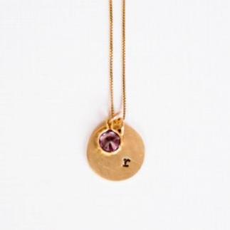 Birthstone Necklace $72