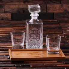 Decanter & Glasses $69.99