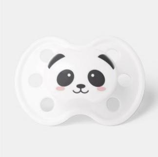 Panda Face Pacifier $13.70