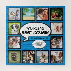 Cousin Photo Jigsaw $58