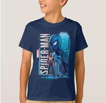 marvel spider man kids brand t shirt
