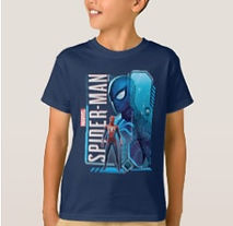 marvel spider man kids brand t shirt