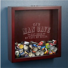 Beer Cap Shadow Box $59.95