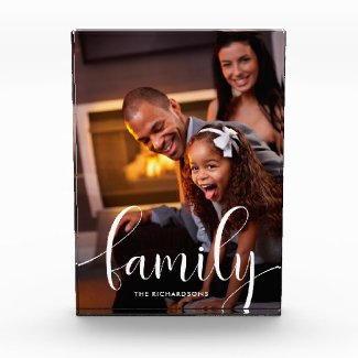 Family Portrait Block $47.95