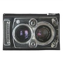 antique camera photo travel accessory bag