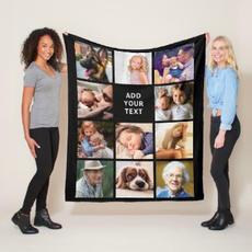 Black Photo Blanket $55.95