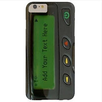 custom old school pager novelty iphone case