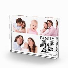 Family Photo Block $45.35