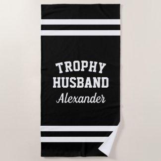 Husband Beach Towel $44.95