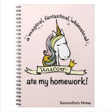 Unicorn Notebook $14.40