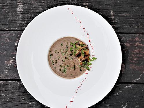 Porcini Mushroom Soup (Serves 1-2)