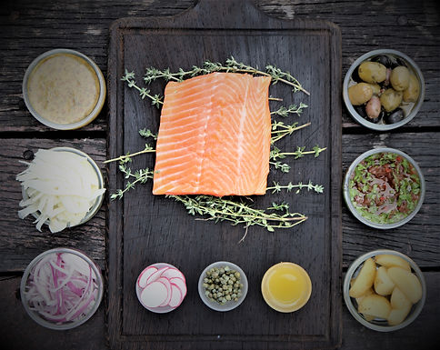 DIY: Oven-Baked Trout With Fennel Radish Slaw (Serves 2-3) (Approx: $19.20/pax)