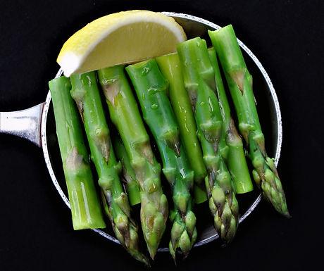 DIY: Lemon Asparagus (Serves 2) (Approx: $7.00/pax)