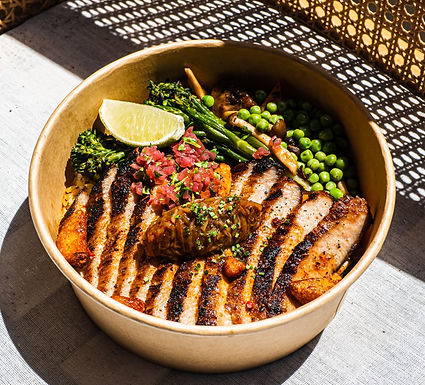 Iberico Pork Jowl bowl