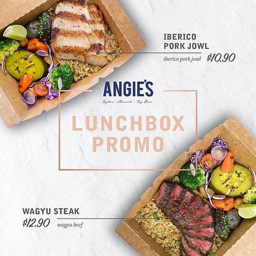 Iberico Pork Jowl Lunchbox