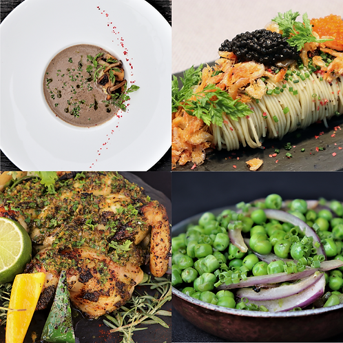 DIY: 6-Course Meal (Serves 3-4pax)