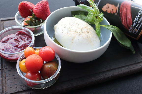DIY: Burrata & Strawberry (Serves 3-4) (Approx: $10.80/pax)
