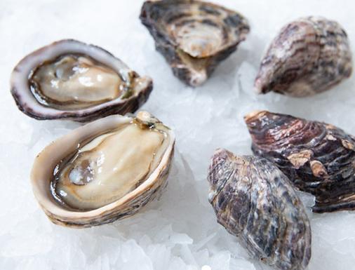 1/2  Doz Kusshi Oysters