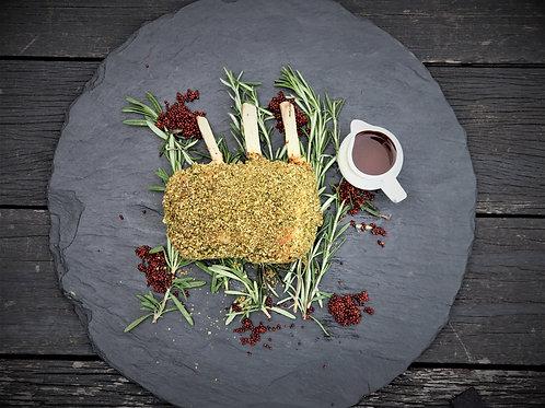 DIY: Iberico Pork Rack 650g in Porcini Herb Crust (Serves 2-3)