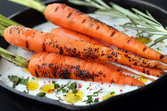 DIY: Baby Carrot with Labneh (Serves 2) (Approx: $6/pax)