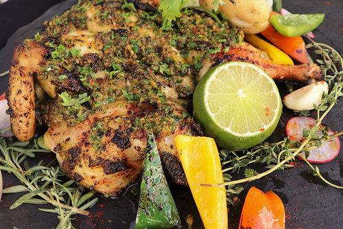 DIY: Ras El Hanout Marinated Spatchcock Chicken 1-1.1kg (Serves 2-3)