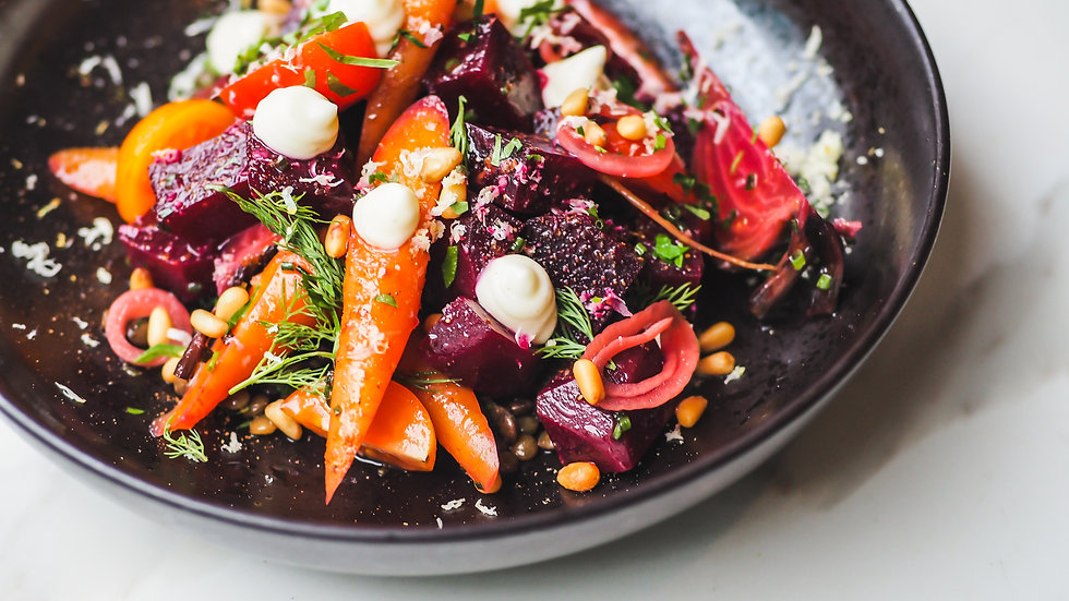 Lentil Salad w Heirloom Tomatoes