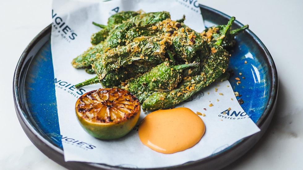 Galicia Padron Pepper & Chorizo Crumbs