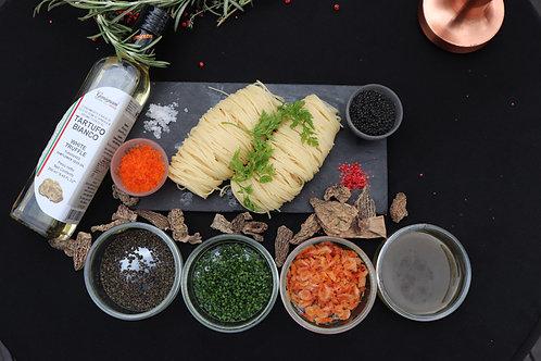 DIY: Truffle Kombu Cold Pasta (Serves 2-3) (Approx: $14.40/pax)