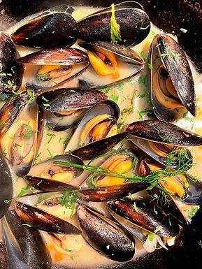 Canadian Black Diamond Mussels (500g)