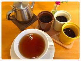 ほっこりする紅茶