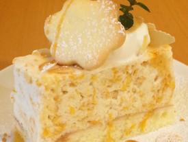 デコポンのムースケーキ