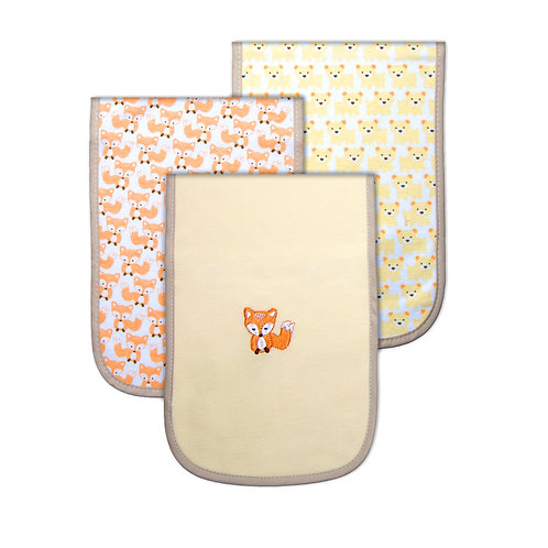 Pack of 3 Burp-cloths