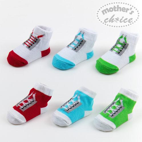 6-12M 6 pack socks