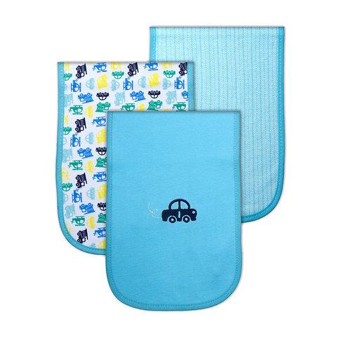 Pack of 3 Burp-cloths