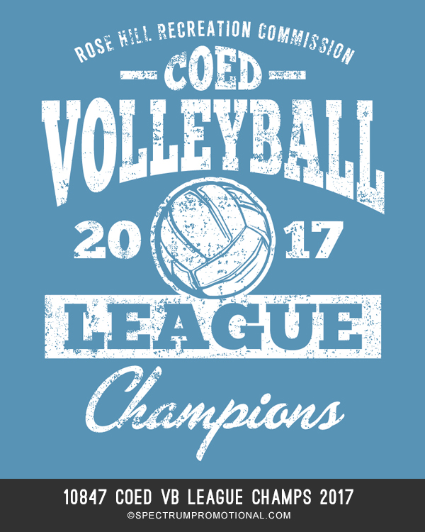 10847 Coed VB League Champs 2017