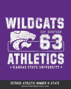 2575KSU Athletic Number K-State
