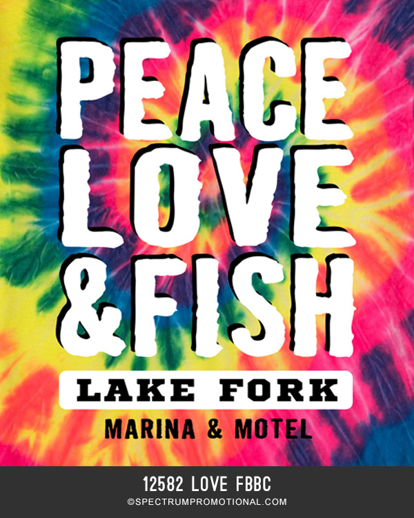 9589 Peace Love Fish Lake Fork