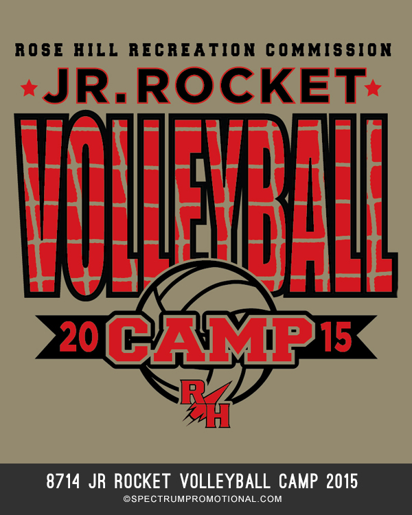 8714 Jr Rocket Volleyball Camp 2015