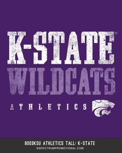8003KSU Athletics Tall K-State