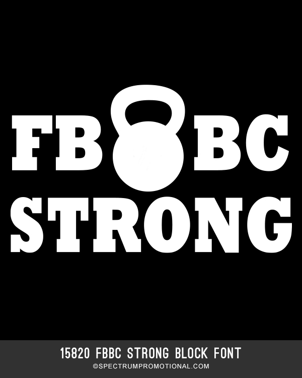 15820 FBBC Strong Block Font
