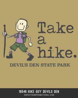 16546 Hike Guy Devils Den