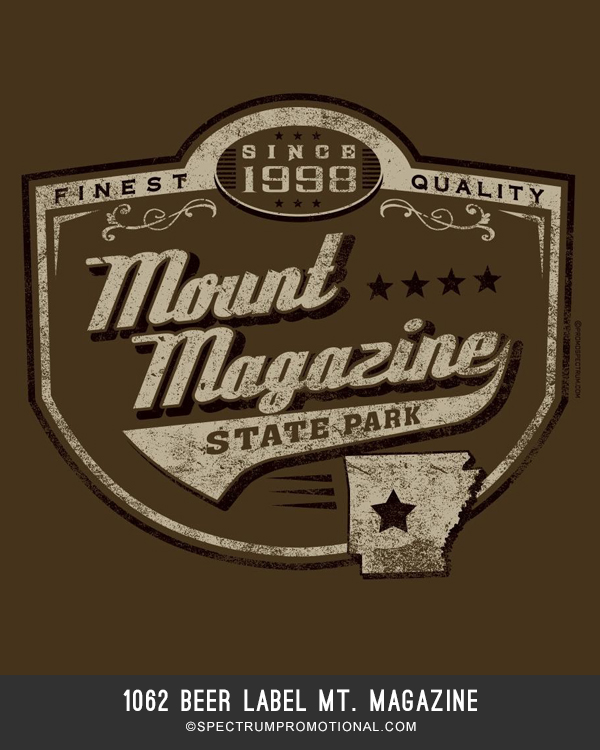 1062 Beer Label Mt. Magazine