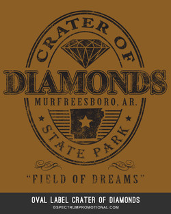 oval label crater of diamonds