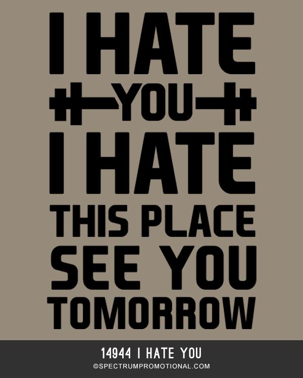 14944 I Hate You