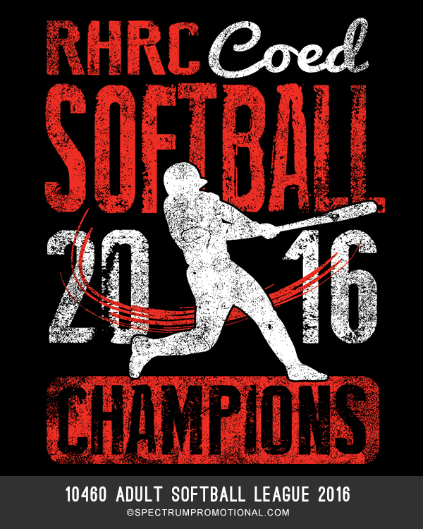 10460 Adult Softball League 2016