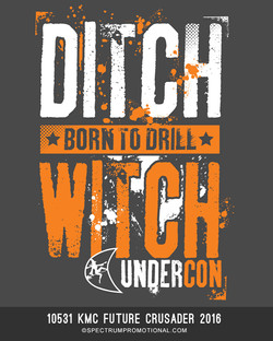 9516 Born To Drill Ditch Witch